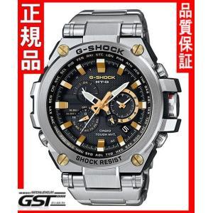 GショックカシオMTG-S1000D-1A9JF「MT-G」ソーラー電波腕時計メンズ(銀色〈シルバー〉)|gst