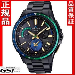 正規国産品カシオOCW-G1100E-1AJF「オシアナスマンタ」GPS電波ソーラー限定品・限定モデルメンズ(黒色〈ブラック〉)|gst