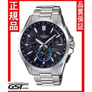 限定カシオ正規国産品OCW-G1100T-1AJF「オシアナス」GPS電波ソーラー腕時計銀色〈シルバー〉)|gst