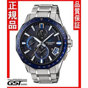 限定品カシオ正規国産品OCW-G2000G-1AJF「オシアナス」電波ソーラー腕時計(銀色〈シルバー〉)|gst