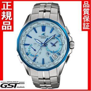 正規国産品カシオOCW-S3400D-2AJF「オシアナスマンタ」電波ソーラー腕時計メンズ(銀色〈シルバー〉)|gst