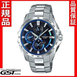 カシオOCEANUS オシアナス OCW-S4000-1AJF  電波ソーラー腕時計 銀色シルバー|gst