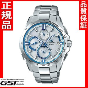 カシオ 正規国産品 OCW-S4000F-7AJF オシアナスマンタ 電波ソーラー腕時計|gst