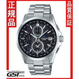 【新品】カシオ正規国産品OCW-T2600-1A2JF オシアナス 電波ソーラー腕時計(銀色〈シルバー〉)|gst