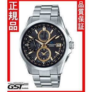 カシオ正規国産品OCW-T2600-1A3JF「オシアナス」電波ソーラー腕時計(銀色〈シルバー〉)|gst