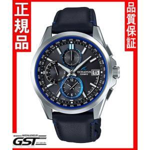 カシオ正規国産品OCW-T2600L-1AJF「オシアナス」電波ソーラー腕時計(銀色〈シルバー〉)|gst