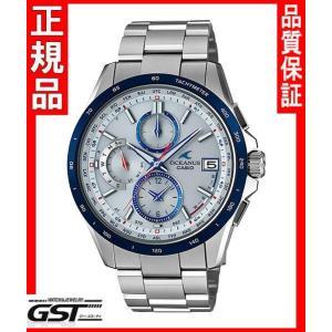 新品、国内モデル カシオ オシアナスOCW-T2610C-7AJF 電波ソーラー腕時計 銀色 シルバー|gst