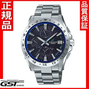 カシオ 正規国産品 OCW-T3000-1AJF オシアナス 電波ソーラー腕時計(銀色〈シルバー〉)|gst