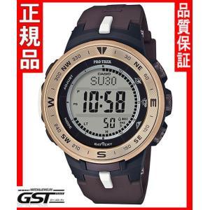 【限定モデル】カシオプロトレックPRG-330GE-5JRコラボレーションモデルソーラー電波腕時計メンズ(黒色〈ブラック〉)|gst
