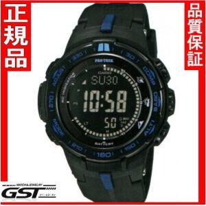 カシオプロトレックPRW-3100Y-1JFソーラー電波腕時計メンズ(黒色〈ブラック〉)|gst
