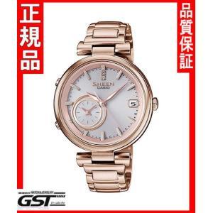 シーンSHB-100CG-4AJFモバイルリンク機能カシオソーラー腕時計「ボヤージュタイムリングシリーズ」レディース|gst