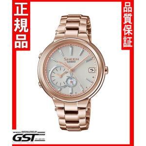 シーンSHB-200CG-9AJFモバイルリンク機能カシオソーラー腕時計「ボヤージュタイムリングシリーズ」レディース|gst