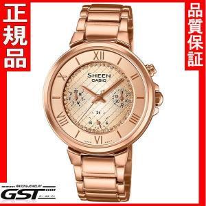 シーンSHE-3040GJ-9AJFカシオ腕時計レディース(金色〈ゴールド〉)|gst