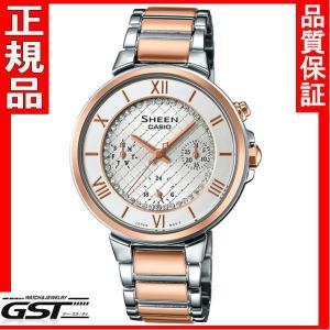 シーンSHE-3040SGJ-7AJFカシオ腕時計レディース(金色〈ゴールド〉)|gst