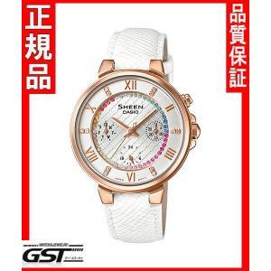 シーンSHE-3041GLJ-7AJFカシオ腕時計レディース(金色〈ゴールド〉)|gst
