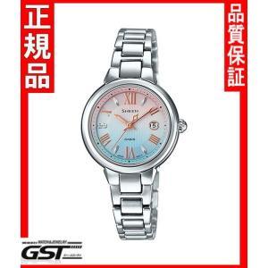 シーンSHE-4516SBJ-7CJFカシオソーラー腕時計「SHEEN」レディース(銀色〈シルバー〉)|gst