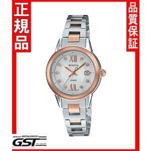 シーンSHS-4500SG-7AJFカシオソーラー腕時計「シーン」レディース|gst