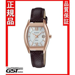 シーンSHS-4501PGL-7AJFカシオソーラー腕時計レディース|gst