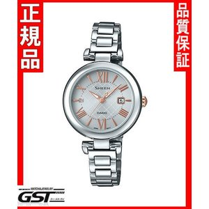 シーンSHS-4502D-7AJFカシオソーラー腕時計「シーン」レディース|gst