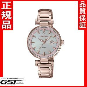 シーン SHS-4524CG-4AJF カシオ ソーラー腕時計 SHEEN レディース8月発売予定|gst