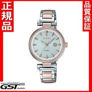 シーン SHS-4524SCG-7AJF カシオ ソーラー腕時計 SHEEN レディース8月発売予定|gst