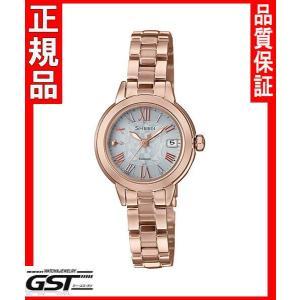 シーンSHW-5000CG-7AJFカシオソーラー電波腕時計「SHEEN」レディース2月発売予定|gst