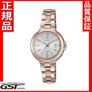 シーン SHW-5100CG-7AJF カシオ ソーラー電波腕時計 SHEEN レディース10月発売予定|gst