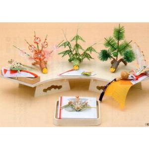 結納飾り 宝十五号7点セット V011-05(関西地方)|gst