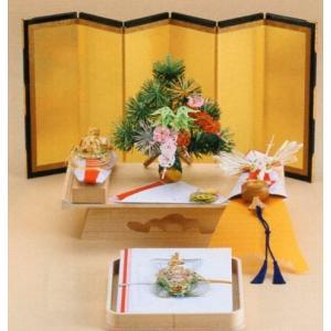 結納飾り 宝十六号7点セット V012-01(関西地方)|gst