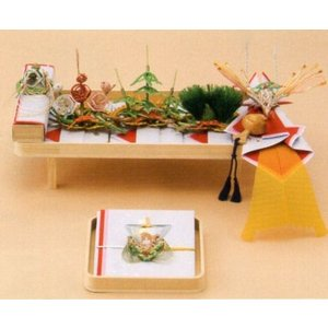 結納飾り 宝十七号5点セット V012-02(関西地方)|gst