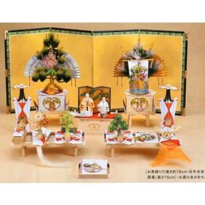 結納飾り「宴一号セット」V016-01(九州地方)|gst