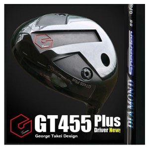 GT455Plusドライバー《フジクラ DIAMOND Speeder》|gtd-golf-shop