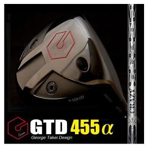 GTD455αドライバー(GTD455アルファ)《CRAZYクレイジー9 dia》:GTDドライバーofficial store|gtd-golf-shop