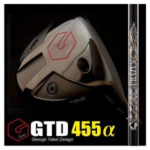 GTD455αドライバー(GTD455アルファ)《CRAZYクレイジーRD EVO》軽硬シャフト|gtd-golf-shop