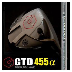 GTD455αドライバー(GTDア455ルファ)《三菱レイヨンDiamana-ZF》:GTDドライバーofficial store|gtd-golf-shop