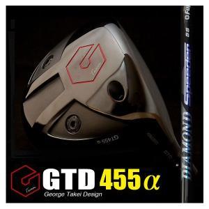 GTD455αドライバー(GTD455アルファ)《フジクラ DIAMOND Speeder》:GTDドライバーofficial store|gtd-golf-shop