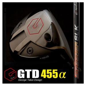 GTD455αドライバー(GTD455アルファ)《フジクラ Speeder SLK》短尺:GTDドライバーofficial store|gtd-golf-shop