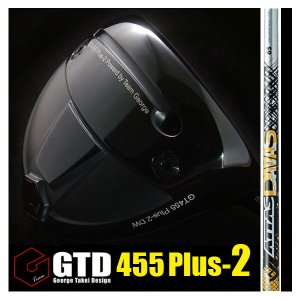 GTD 455Plus2ドライバー《アッタス ATTAS DAAAS ダァーッス》:GTDドライバーofficial store|gtd-golf-shop