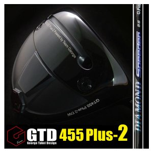GTD 455Plus2ドライバー《フジクラ DIAMOND Speeder》:GTDゴルフofficial store gtd-golf-shop