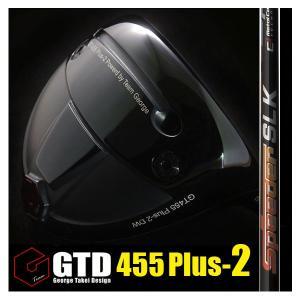 GTD455Plus2ドライバー《フジクラ Speeder SLK》短尺:GTDゴルフofficial store gtd-golf-shop