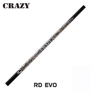 CRAZYクレイジー「RD EVO」(軽硬シャフト)GTDドライバー専用スリーブ付き別売りシャフト|gtd-golf-shop