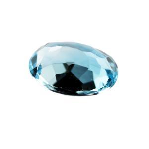 天然石 ルースストーン(裸石) ブルートパーズ 7.503ct (3-7)【送料無料】|gtsc