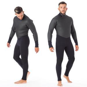 冬用の本格的なセミドライスーツです。上半身はメッシュスキンでできており、水切りが良いため気化熱による...