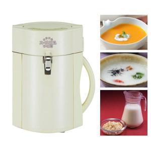 【販売終了】送料無料◆らくらくスープ&豆乳つくり器 スープメーカー|gudezacom