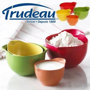 【販売終了】Trudeau トゥルードゥー コンディメントボウル 4pcs(ミニボウル 小皿 ディップ入れ ソース入れ 調味料 ボール)|gudezacom