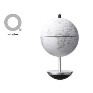 【販売終了】atmosphere アトモスフィア 地球儀 SWING スウィング 【マットホワイト】 ATM09WH gudezacom