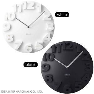 【販売終了】IDEA イデア ラウンドロックウォールクロック LCW071壁掛け時計/掛時計 (おしゃれ)|gudezacom