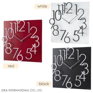 【販売終了】IDEA イデア アラビックダンスウォールクロック LCW080 壁掛け時計/掛時計 (おしゃれ)|gudezacom