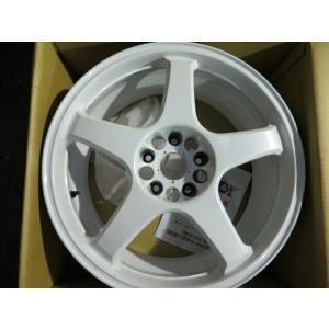 エンケイ/RC5 18インチアルミ・ホワイト【中古】 guguas-auto