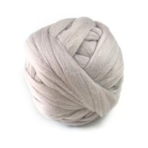 超極太メリノウール毛糸-Bicky フェアリーグレー 1kg 大玉|guild-yarn